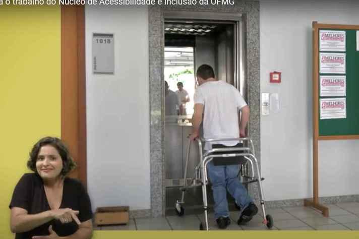 Acessibilidade e tradução para Libras são alguns dos recursos de apoio aos estudantes com deficiência