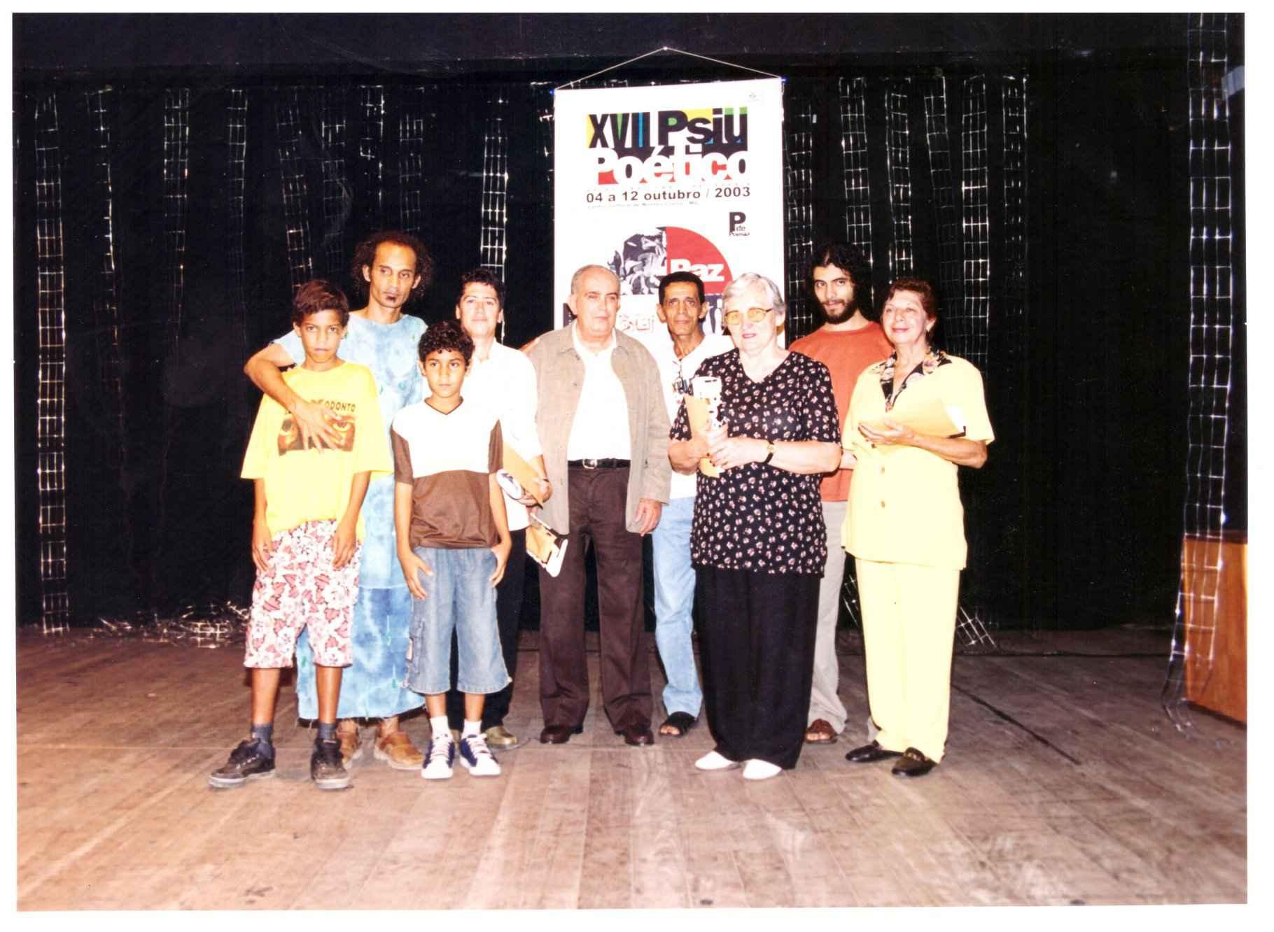 Registro do 17º Psiu Poético, realizado em Montes Claros, em 2003