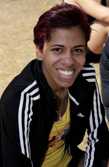 Silvania Maria Gonçalves fez o melhor tempo geral entre as mulheres: 24 minutos e 45 segundos