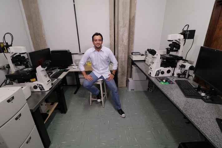 Gustavo Menezes: centro de excelência instalado na UFMG é o único do mundo adaptado para ensaios com animais vivos e aliado a um laboratório de pesquisa