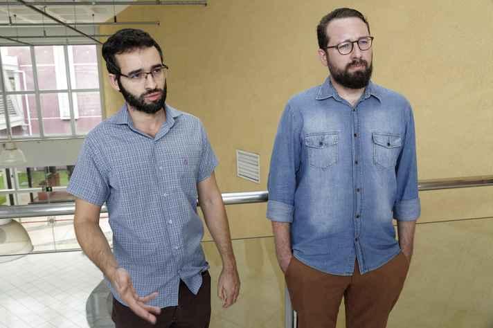Renan Almeida (UFSJ) e João Tonucci (Cedeplar/UFMG): oportunidade também para as universidades