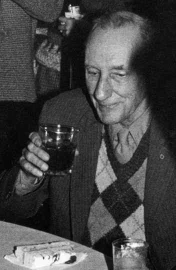 Burroughs, em seu aniversário de 70 anos