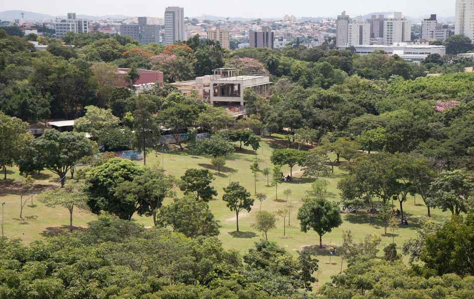 Bosque da Música, no campus Pampulha da UFMG