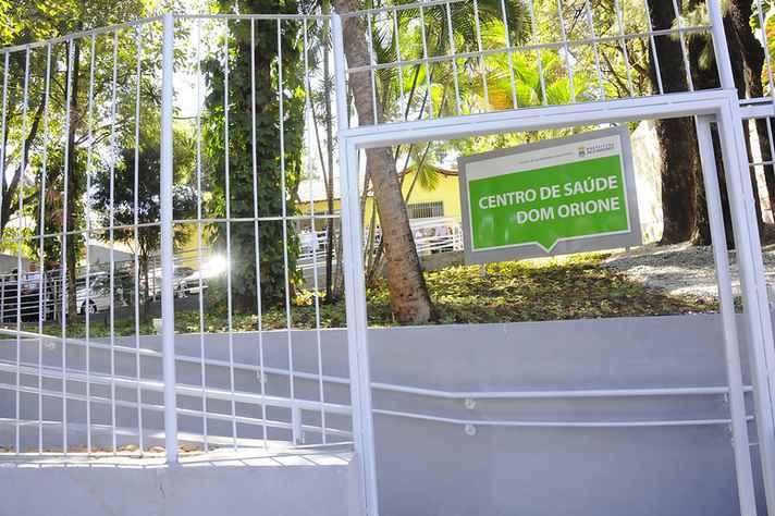 Centro de Saúde Dom Orione, na Avenida Otacílio Negrão de Lima, é um dos mais próximos do campus Pampulha