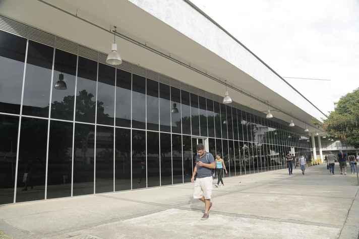 Prédio do CAD 2, no campus Pampulha, que abriga o registro acadêmico de calouros