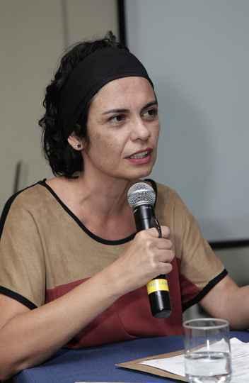 Claudia Mayorga elogiou a qualidade dos trabalhos
