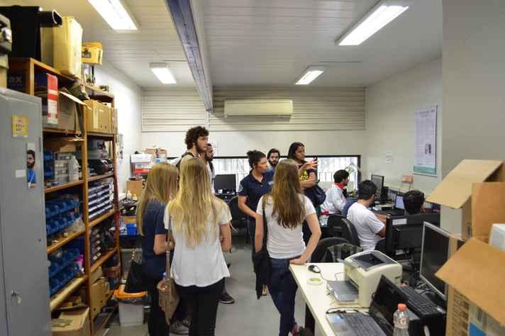 Equipe do Labbio, onde a tecnologia foi desenvolvida