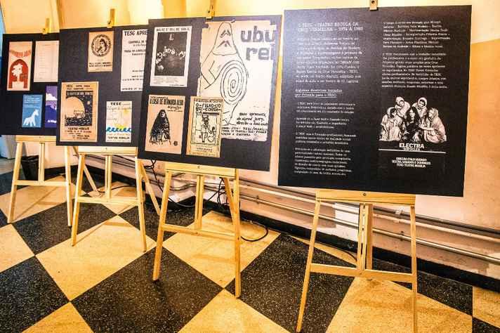 Exposição resgata os 20 primeiros anos do Teatro Marília