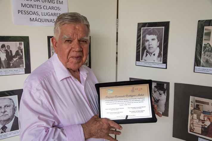 Raimundo Avelar: primeiro diretor após a transferência do Colégio Agrícola para a UFMG