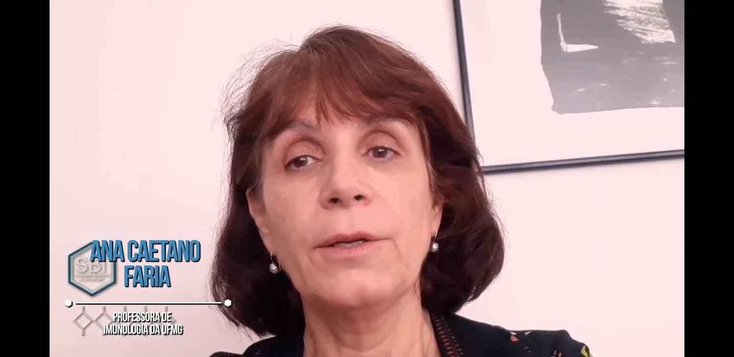 Ana Caetano, professora da UFMG, participa da campanha