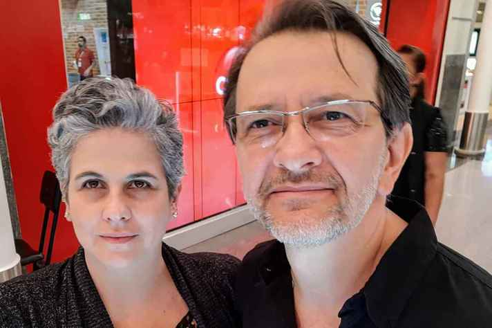 Mariana e Maurilio são professores do Departamento de Artes Cênicas  da UFMG