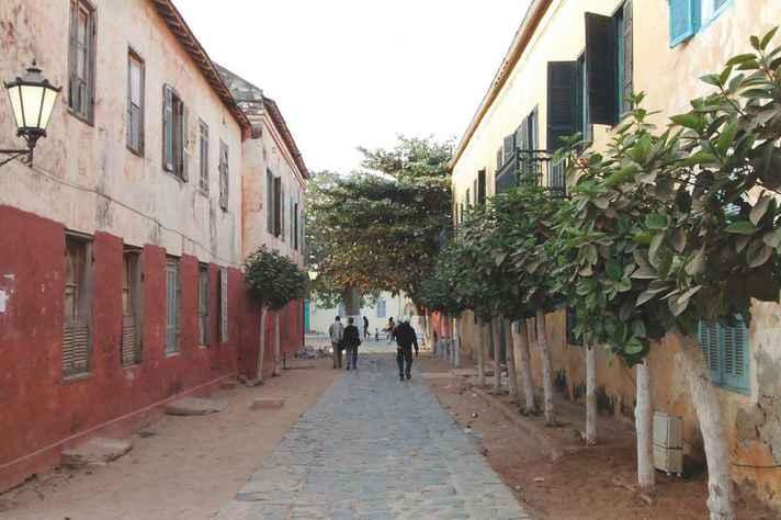 Ilha de Gorée, no Senegal, foi entreposto de tráfico atlântico de pessoas escravizadas