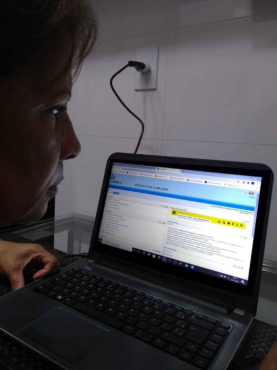 Acesso ao 'MonitoraCovid' pode ser feito pelo Portal da Universidade e pelo MinhaUFMG
