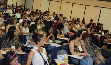 Atividade de formação de professores na UFMG