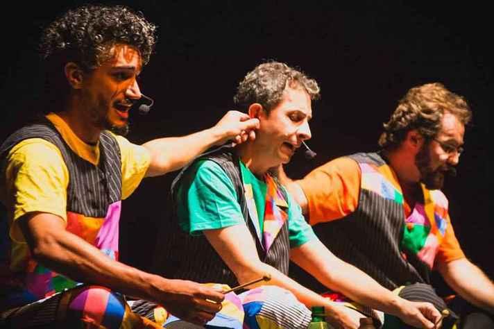 Trio de artistas apresentará canções destinadas especialmente ao público infantil