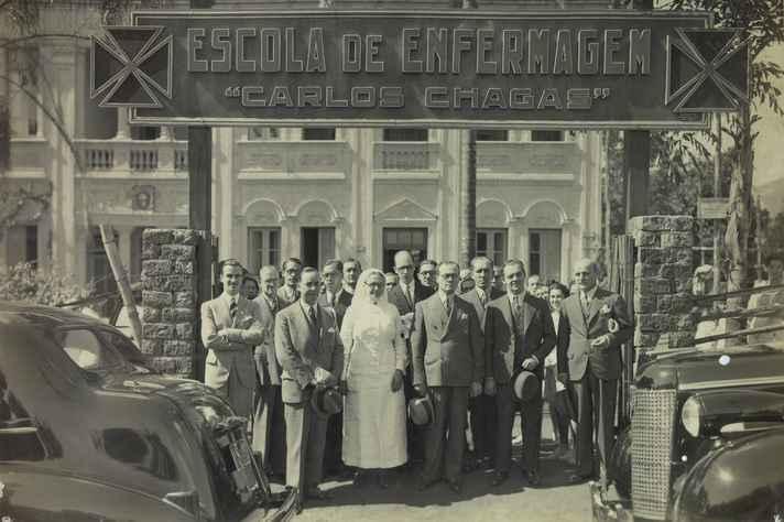 Escola de Enfermagem Carlos Chagas (EECC) fundada em Belo Horizonte, Minas Gerais, em 7 de julho de 1933, que deu origem à que veio a ser a atual Escola de Enfermagem da Universidade Federal de Minas Gerais.