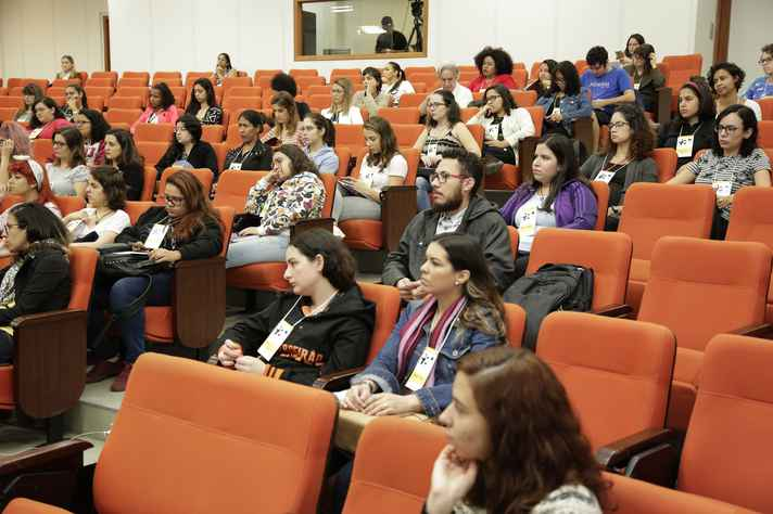 Evento recebeu público formado majoritariamente por mulheres