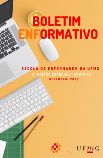 Ensino Remoto Emergencial é tema de segunda edição especial do 'Boletim Enformativo' da Escola de Enfermagem da UFMG