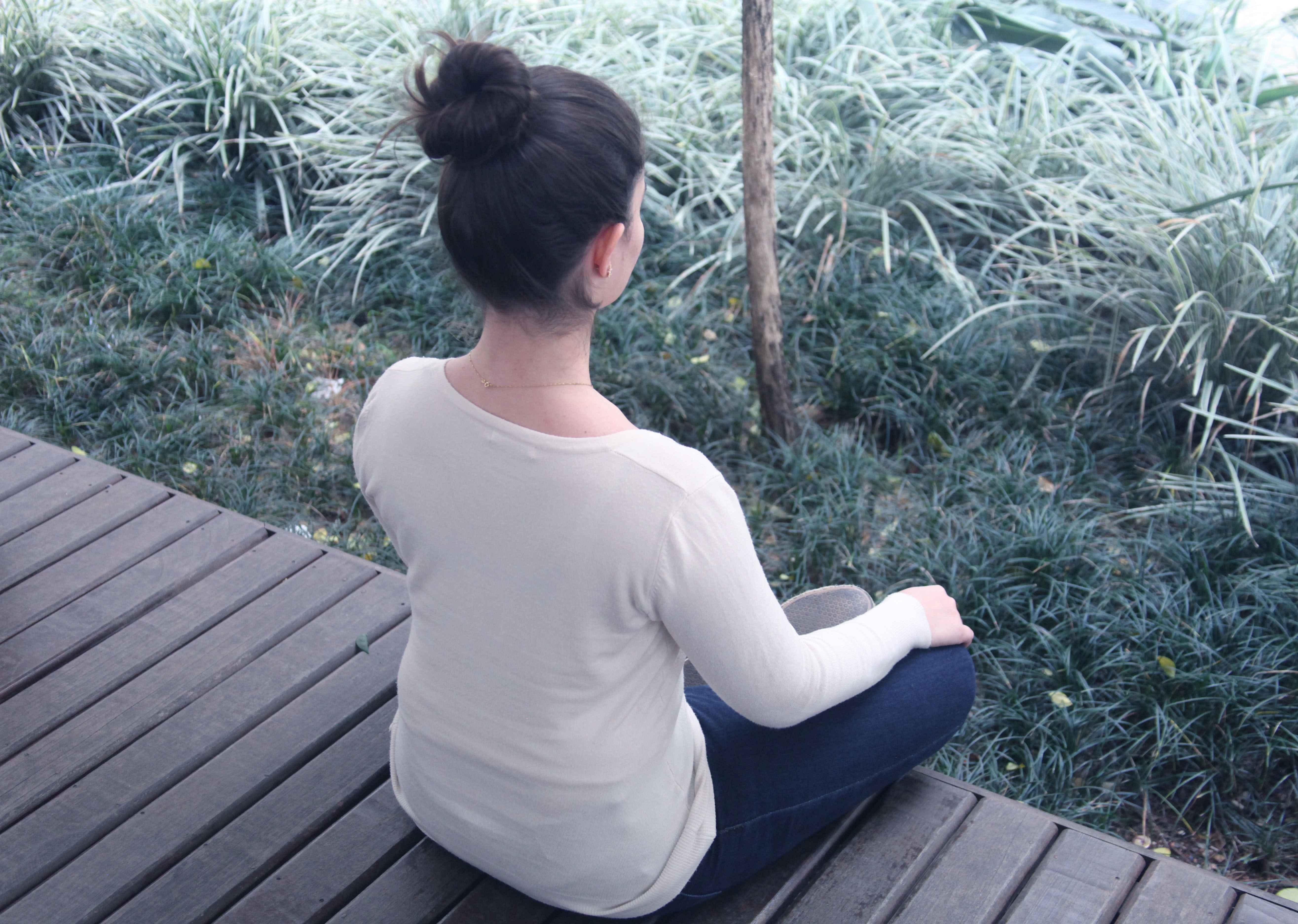 Oficina de práticas de saúde e bem estar -  medicina tradicional chinesa, antroposofia e meditação no campus Saúde