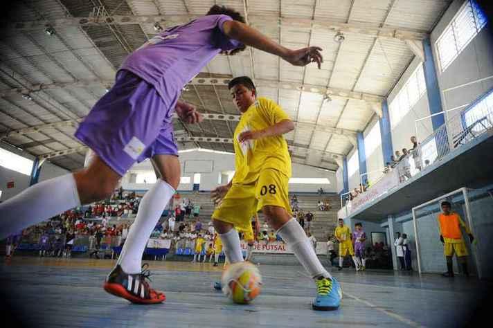 Futsal é uma das modalidades que terão oficina prática