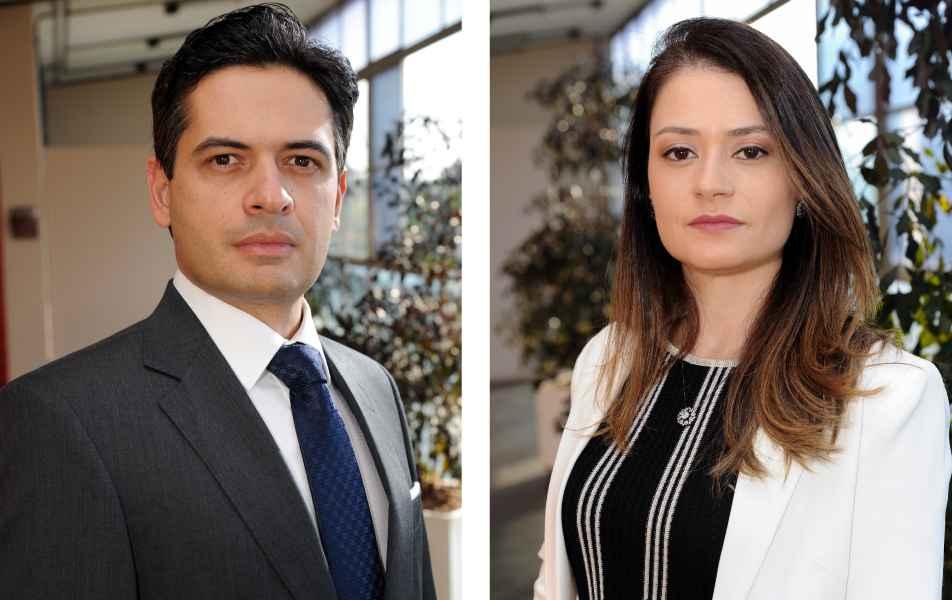 <p>Procurador-chefe da Procuradoria Federal junto à&nbsp;UFMG<br>Henrique de Melo Secco<br>Procuradora-chefe adjunta da Procuradoria Federal junto à&nbsp;UFMG<br>Ludmila Meira Maia Dias</p>