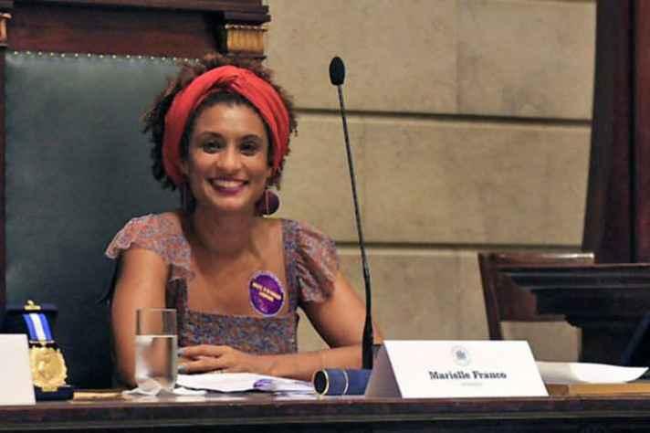 Vereadora do Rio de Janeiro, Marielle Franco, do PSOL, foi assinada a tiros em março de 2018 num crime que até hoje não foi esclarecido