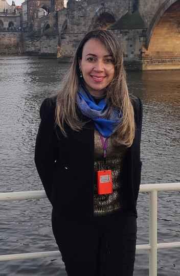 A pesquisadora Danielle Cunha Cardoso