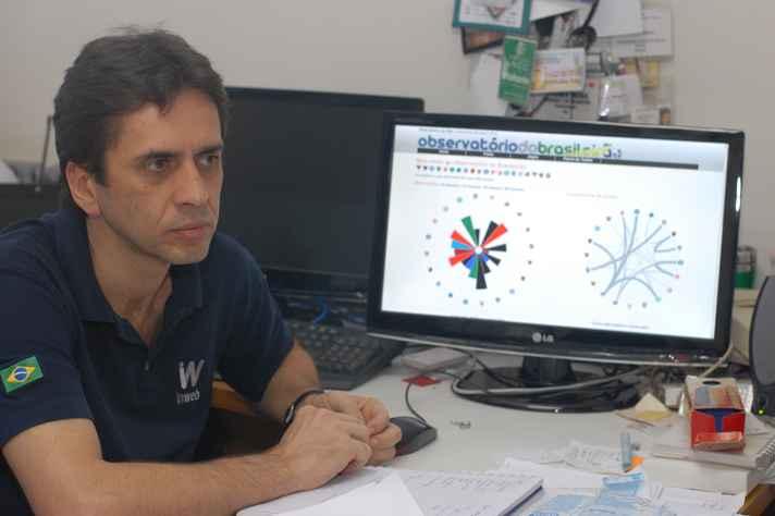 Professor Wagner Meira, autor de uma das propostas selecionadas: identificação de