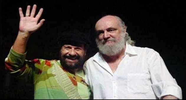 João Bosco e Aldir Blanc, amigos e parceiros da música brasileira