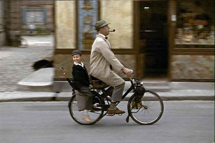 Cena do filme 'Meu tio', um dos maiores sucessos de Jacques Tati