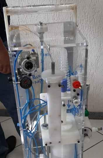 Respirador é fácil de reproduzir e não tem componentes importados