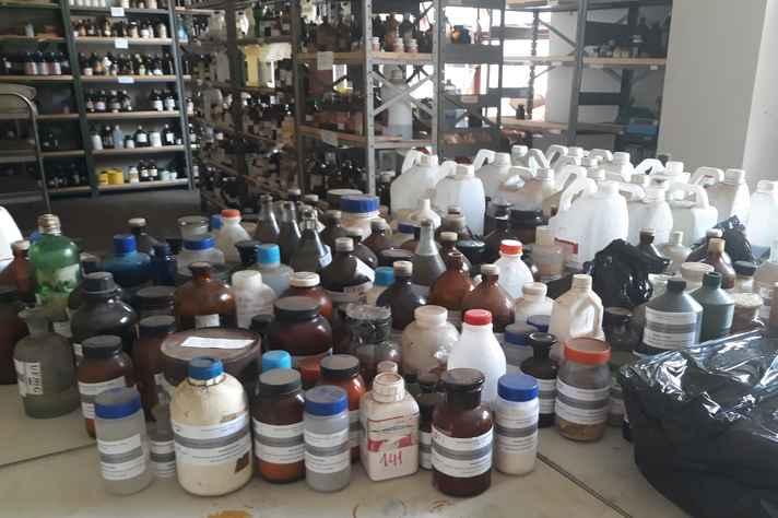 Resíduos químicos de composição conhecida