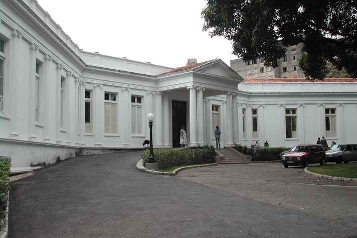 Ambulatório Borges da Costa, onde os pacientes que receberão as doações fazem tratamento