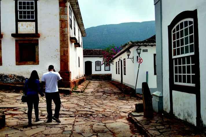 Rua de Tiradentes, onde a UFMG desenvolve projetos de ensino, pesquisa e extensão