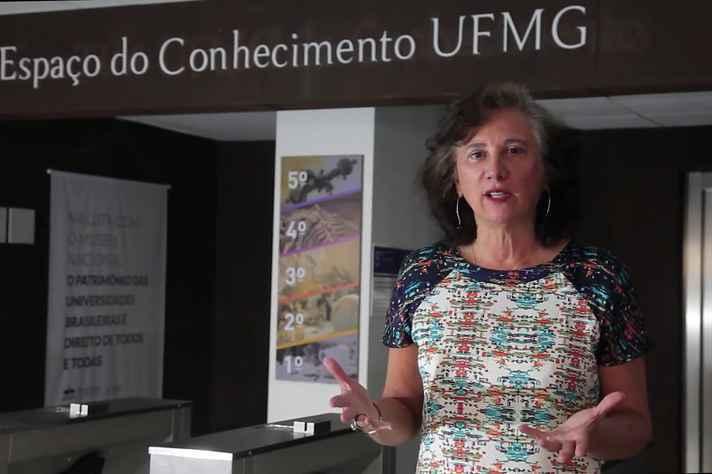 Diomira Faria, Diretora do Espaço do Conhecimento UFMG
