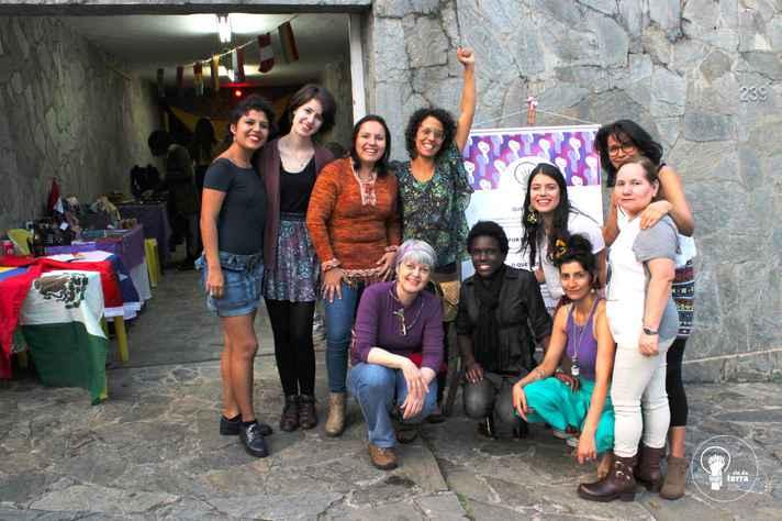 Mulheres do coletivo Cio da Terra