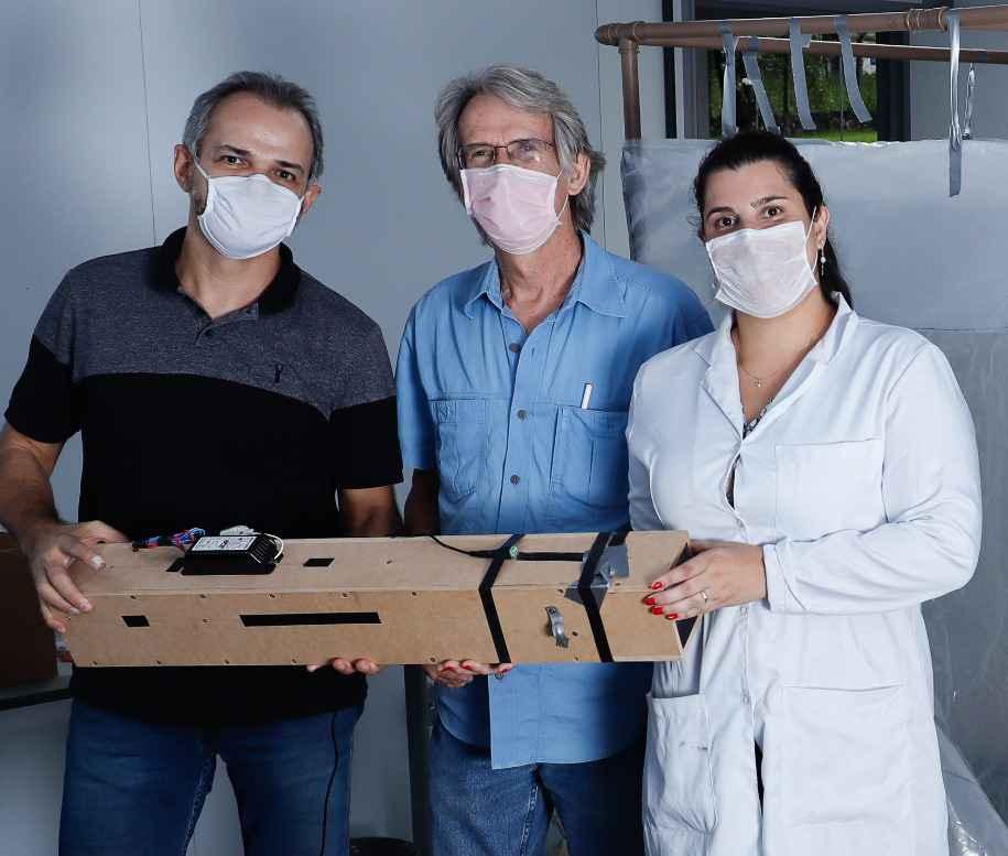Alexandre Leão, Gregory Kitten e Thalita Arantes: