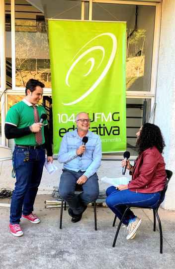 Pró-reitor Tarcísio Vago, em entrevista à UFMG Educativa