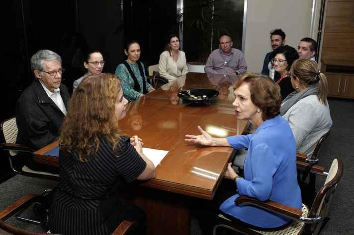 Encontro no gabinete da reitora reuniu dirigentes da UFMG e da Secretaria Municipal de Educação