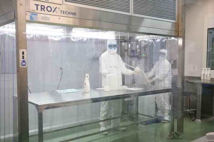 Instalação do Instituto Butantã, em São Paulo, que produzirá a vacina em larga escala caso seja aprovada nos testes de segurança e eficácia