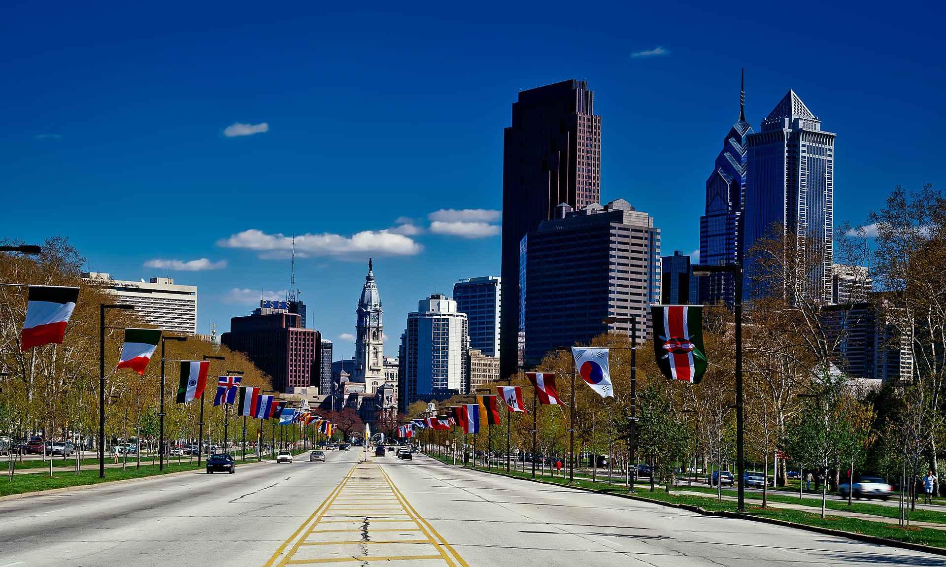 Filadélfia, no nordeste dos EUA: cátedra vai contemplar aspectos diversos da vida americana