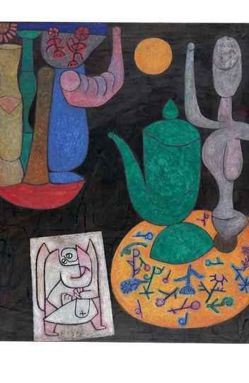 Sem Título (Última Natureza Morta), 1940 - Óleo sobre tela - Zentrum Paul Klee