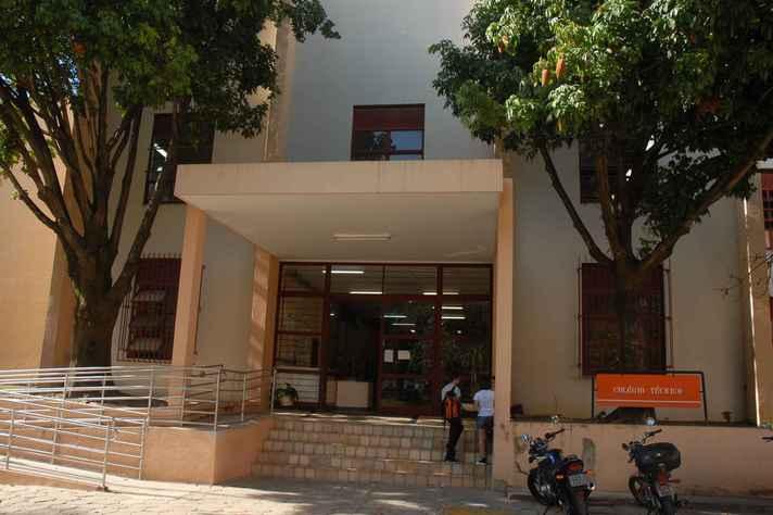 Prédio do Colégio Técnico no campus Pampulha