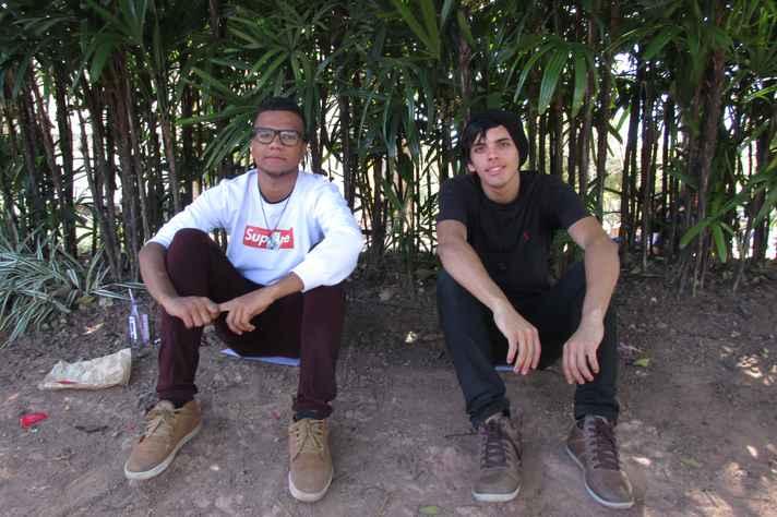 Yuri Daniel e Matheus Moreira