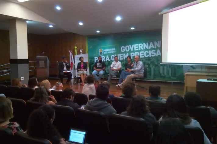 Evento foi realizado na sede da prefeitura de Belo Horizonte