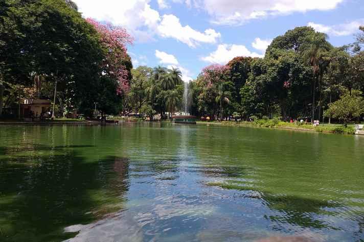 Parque Municipal, uma das áreas verdes concentradas na região centro-sul de BH