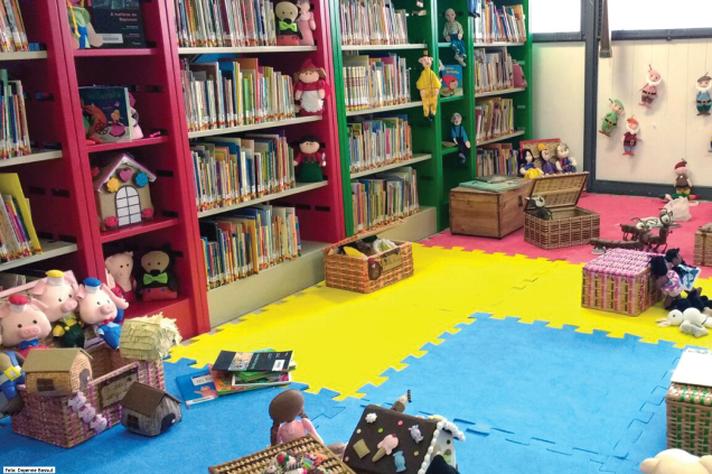 Bebeteca do Ceale, espaço dedicado à literatura na primeira infância e à formação de mediadores de leitura