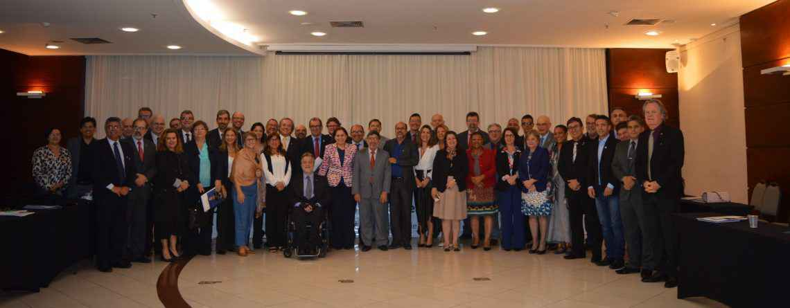 Reitores reuniram-se na Universidade Federal do Espírito (Ufes) para discutir o programa 'Future-se'