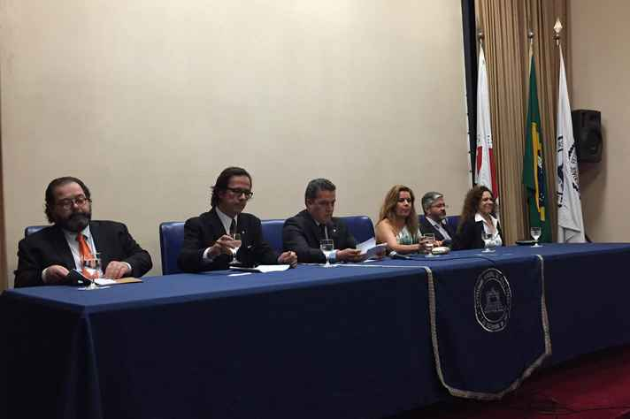Mauricio Campomori, Frederico Tofani, Jaime Ramírez, Sandra Goulart Almeida, Paulo Gustavo von Krüger e Rita de Cássia Lucena