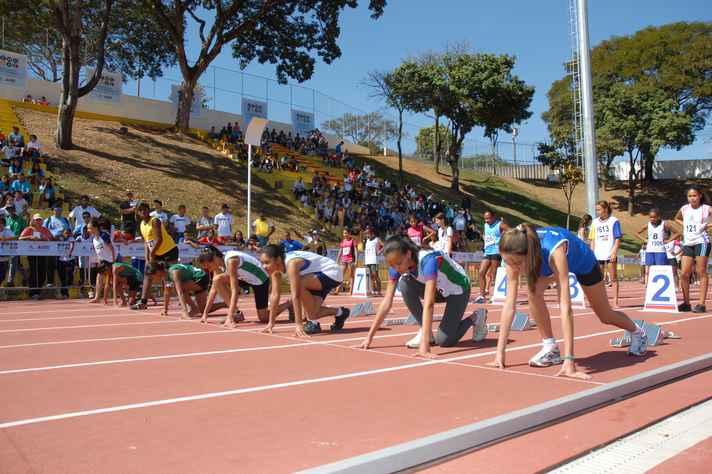 Realização dos Jogos Escolares de Minas Gerais no Centro de Treinamento Esportivo.